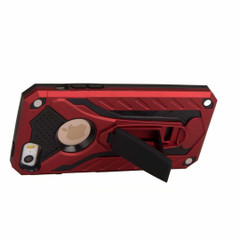 iPhone 5, 5S & SE Case, Armour Strong Shockproof Tough Cover with Kickstand, Red | Armor iPhone 5, 5S & SE Cases | Armor iPhone 5, 5S & SE 5C Covers | iCoverLover