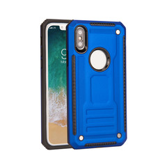 iPhone XS Max Case, Armour Strong Shockproof Thin Tough Cover, Blue | Armor iPhone XS Max Cases | Armor iPhone XS Max Covers | iCoverLover