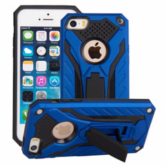 iPhone SE (1st gen), 5s & 5 Case, Armour Strong Shockproof Tough Cover with Kickstand, Blue | Armor iPhone SE (1st gen), 5s & 5 Cases | Armor iPhone SE (1st gen), 5s & 5 5C Covers | iCoverLover