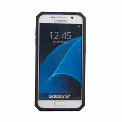 Samsung Galaxy S7 Case, Armour Strong Shockproof Cover with Kickstand, Black   Armor Samsung Galaxy S7 Cases   Armor Samsung Galaxy S7 Covers   iCoverLover