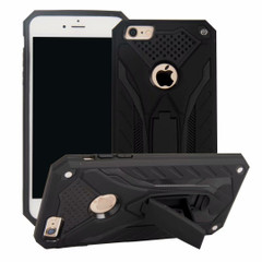 iPhone 6 & 6S Case, Armour Strong Shockproof Cover with Kickstand, Black | Armor iPhone 6 & 6S Cases | Armor iPhone 6 & 6S Covers | iCoverLover