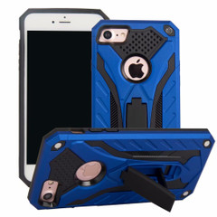 iPhone SE (2020) / 8 / 7 Case, Armour Strong Shockproof Cover with Kickstand, Blue | iCoverLover
