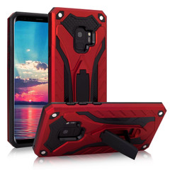 Samsung Galaxy S9 Case, Armour Strong Shockproof Cover with Kickstand, Red | Armor Samsung Galaxy S9 Cases | Armor Samsung Galaxy S9 Covers | iCoverLover