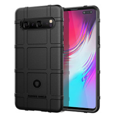 Samsung Galaxy S10 5G Black Shockproof Rugged Shield Full Coverage Protective Silicone Case | Free Delivery across Australia