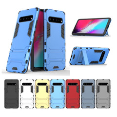 Samsung Galaxy S10 5G Case Navy Blue PC+TPU Protective Back Shell with Impact Protection, Scratch Resistance, Kickstand