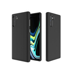 Anti-slip Armor Texture TPU + PC Case for Galaxy Note10(Black)