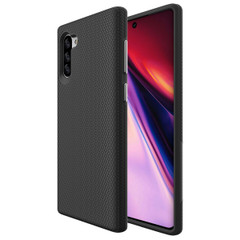 Galaxy Note 10 Black Armour Back Case | iCoverLover