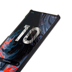 Red Elegant Genuine Leather Samsung Galaxy Note 10 Case | Samsung Galaxy Note 10 Genuine Leather Covers | Samsung Galaxy Note 10 Leather Cases | iCoverLover