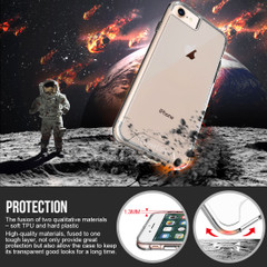 iPhone 8, 7, 6 & 6S Case, iCL Shockproof Clear Cover | iCoverLover