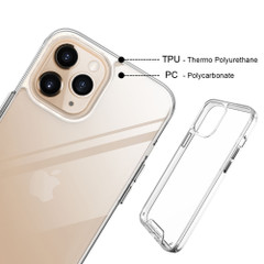 iPhone 11 Pro, 11 & 11 Pro Pro Max Case, iCL Shockproof Clear Cover | iCoverLover | Australia