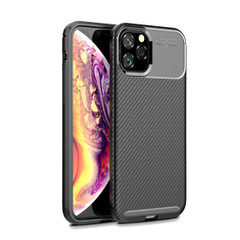 iPhone 11 Pro Max Case Carbon Fibre Texture Cover | iCoverLover | Australia