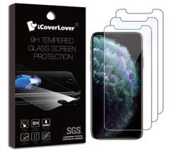 3-pack Tempered Glass Screen Protectors | iPhone 12 Pro Max, 12 Pro/12, 12 mini, 11/XR, 11 Pro/XS/X, Pro Max/XS Max | iCoverLover Australia