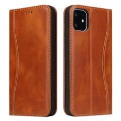iPhone 11 Case Fierre Shann Genuine Cowhide Leather Cover