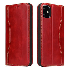 iPhone 11 Pro Case Fierre Shann Genuine Cowhide Leather Cover