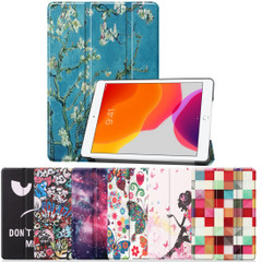 iPad 10.2in (2021,2020,2019) Case Stand , Drawing PU Leather Cover, 3-Fold Smart FunctioniPad Cases   iCoverLover.com.au