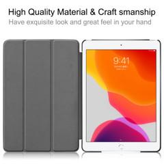 iPad 10.2 Inch (2019) 3-Fold Stand Flip PU Leather Case   iCoverLover Australia