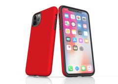 iPhone 11 Pro Max, 11 Pro, 11, XS Max, XS/X, XR, 8/7/6 Plus, SE/5S/5 Tough Case, Red | iCoverLover
