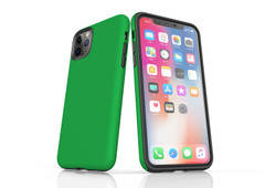iPhone 11 Pro Max, 11 Pro, 11, XS Max, XS/X, XR, 8/7/6 Plus, SE/5S/5 Tough Case, Green | iCoverLover