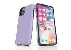 iPhone 11 Pro Max, 11 Pro, 11, XS Max, XS/X, XR, 8/7/6 Plus, SE/5S/5 Tough Case, Lavender | iCoverLover