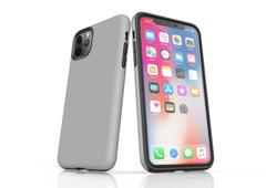 iPhone 11 Pro Max, 11 Pro, 11, XS Max, XS/X, XR, 8/7/6 Plus, SE/5S/5 Tough Case, Grey | iCoverLover