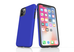 iPhone 11 Pro Max, 11 Pro, 11, XS Max, XS/X, XR, 8/7/6 Plus, SE/5S/5 Tough Case, Blue   iCoverLover