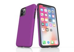 iPhone 11 Pro Max, 11 Pro, 11, XS Max, XS/X, XR, 8/7/6 Plus, SE/5S/5 Tough Case, Purple | iCoverLover