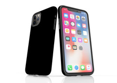 iPhone 11 Pro Max, 11 Pro, 11, XS Max, XS/X, XR, 8/7/6 Plus, SE/5S/5 Tough Case, Black | iCoverLover