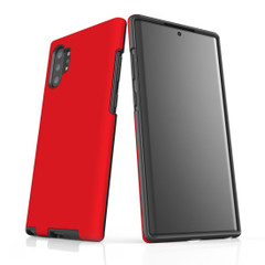 Samsung Galaxy Note 10+ Plus, Note 10, Note 9, Note 8 & Note 5 Case, Protective Tough Protective Cover, Red