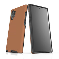 Samsung Galaxy Note 10+ Plus, Note 10, Note 9, Note 8 & Note 5 Case, Protective Tough Protective Cover, Brown