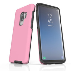 Samsung Galaxy S10 5G, S10+/S10/S10e, S9+/S9, S8+/S8, S7e/S7 Case, Armour Tough Protective Cover, Pink