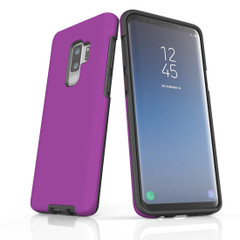 Samsung Galaxy S10 5G, S10+/S10/S10e, S9+/S9, S8+/S8, S7e/S7 Case, Armour Tough Protective Cover, Purple