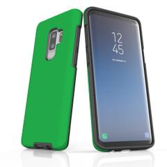 Samsung Galaxy S20 Ultra/S20+/S20,S10 5G/S10+/S10/S10e, S9+/S9, S8+/S8 Case, Armour Tough Protective Cover, Green