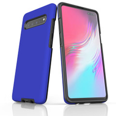 Samsung Galaxy S20 Ultra/S20+/S20,S10 5G/S10+/S10/S10e, S9+/S9, S8+/S8 Case, Armour Tough Protective Cover, Blue