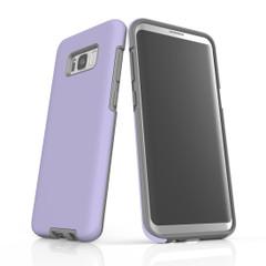 Samsung Galaxy S20 Ultra/S20+/S20,S10 5G/S10+/S10/S10e, S9+/S9, S8+/S8 Case, Armour Tough Protective Cover, Lavender