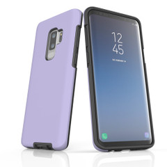 Samsung Galaxy S10 5G, S10+/S10/S10e, S9+/S9, S8+/S8, S7e/S7 Case, Armour Tough Protective Cover, Lavender