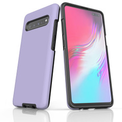 Samsung Galaxy S20 Ultra/S20+/S20,S10 5G/S10+/S10/S10e, S9+/S9, S8+/S8 Case, Armour Tough Protective Cover, Lavender