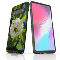 Samsung Galaxy S10 5G, S10+/S10/S10e, S9+/S9, S8+/S8, S7e/S7 Case Protective Cover, Hibiscus | iCoverLover