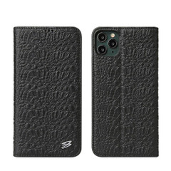 iPhone 11 Pro Case Fierre Shann, Real Leather Cover   iCoverLover Australia