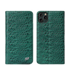 iPhone 11 Pro Case Fierre Shann, Real Leather Cover | iCoverLover Australia