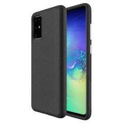 Samsung Galaxy S20/20+ Plus/20 Ultra 4G 5G Case Black Ultra Thin Shockproof PC+TPU Armour Back Cover | Armor Samsung Galaxy S20/20+ Plus/20 Ultra 4G 5G Covers | Armor Samsung Galaxy S20/20+ Plus/20 Ultra 4G 5G Cases | iCoverLover