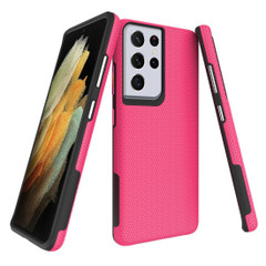 Samsung Galaxy S20/20+ Plus/20 Ultra 4G 5G Case Pink Ultra Thin Shockproof PC+TPU Armour Back Cover | Armor Samsung Galaxy S20/20+ Plus/20 Ultra 4G 5G Covers | Armor Samsung Galaxy S20/20+ Plus/20 Ultra 4G 5G Cases | iCoverLover