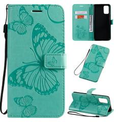 Samsung Galaxy S20 Ultra Pressed Butterflies Wallet Case   iCoverLover Australia