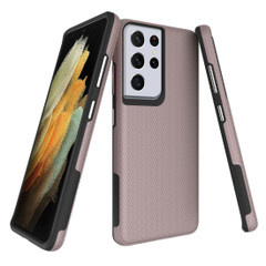 Samsung Galaxy S20/20+ Plus/20 Ultra 4G 5G Case Rose Gold Ultra Thin Shockproof PC+TPU Armour Back Cover | iCoverLover