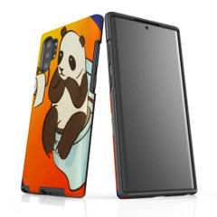 Samsung Galaxy Note 10+ Plus Note 10 Note 9 Note 8 & Note 5 Case Protective Tough Cover, Panda's Toilet   iCoverLover Australia