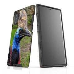 Samsung Galaxy Note 10+ Plus Note 10 Note 9 Note 8 & Note 5 Case Protective Tough Cover, Cassowary | iCoverLover Australia