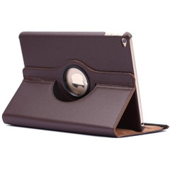 Brown Rotatable Flip Leather iPad Air 2 Case | Cool iPad Air 2 Cases | iPad Air 2 Covers | iCoverLover