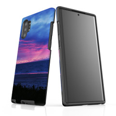 Samsung Galaxy Note 10+ Plus Note 10 Note 9 Note 8 & Note 5 Case Protective Tough Cover, Sunset at the Beach | iCoverLover Australia