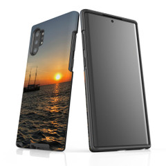 Samsung Galaxy Note 10+ Plus Note 10 Note 9 Note 8 & Note 5 Case Protective Tough Cover, Sailing Sunset   iCoverLover Australia