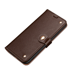 Samsung Galaxy S20/20+ Plus/20 Ultra 4G 5G Case, Genuine Leather Wallet in Brown | iCoverLover Australia