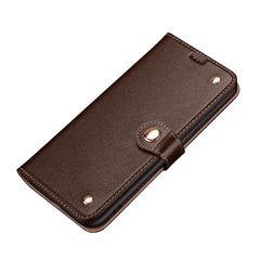 Samsung Galaxy S20/20+ Plus/20 Ultra 4G 5G Case, Genuine Leather Wallet in Brown | iCoverLover Australia